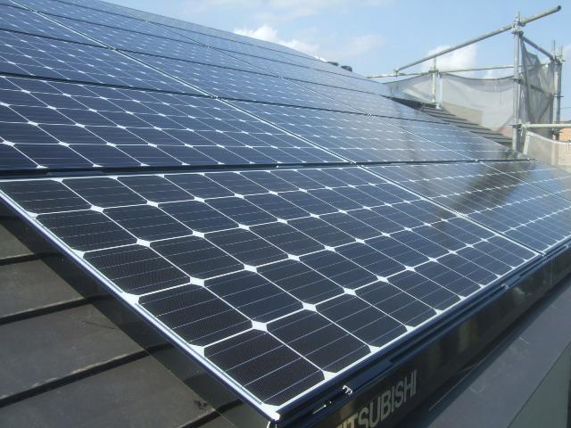 三菱太陽光パネル設置