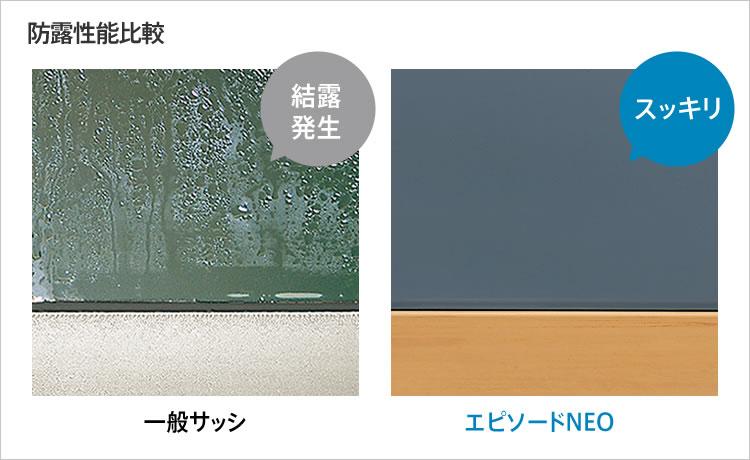 サッシ・窓シャッターYKKAP サッシ アルミ樹脂複合窓  エピソードNEO特長