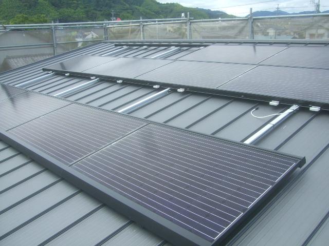 リクシル 太陽光設置